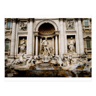 Fontana Di Trevi Cartão Postal