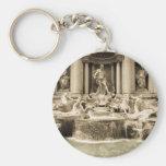 Fonte clássica do Trevi, Roma Chaveiro