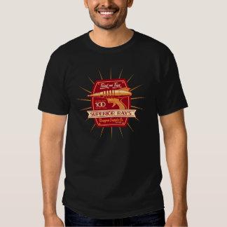 Fonte Co. do Raygun do raio superior Tshirts