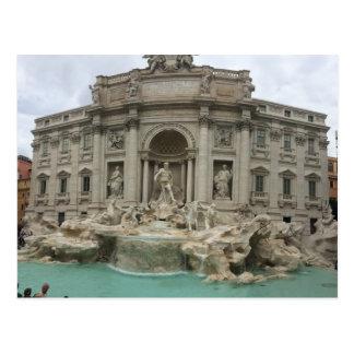 Fonte do Trevi, cartão de Roma, Italia