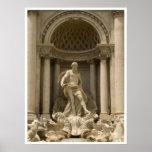 Fonte do Trevi, Roma Posteres