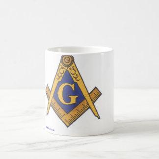 Fonte maçónica, do avental aos relógios caneca de café