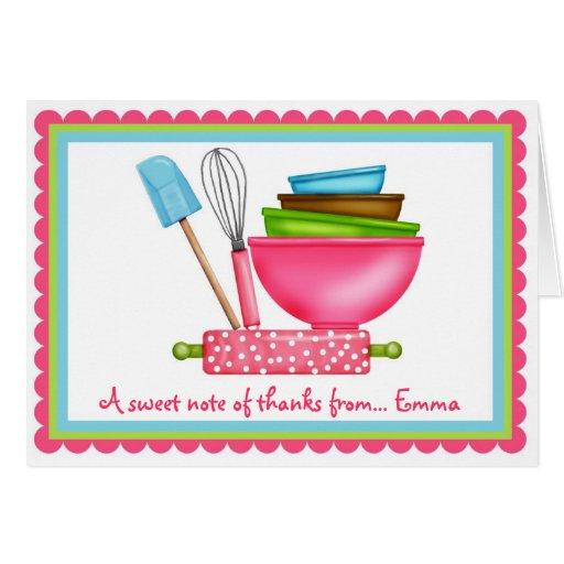 Fontes da cozinha que cozem o obrigado você cartõe cartões