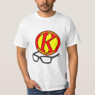 Fontes do super-herói de Kent Tshirts