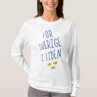 För Sverige mim camiseta de Tiden, divisa da