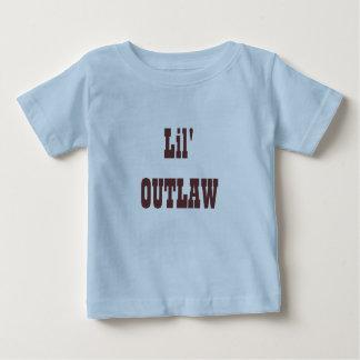 FORA DA LEI de Lil Camiseta Para Bebê