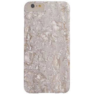 Fora das capas de iphone finas brancas da textura
