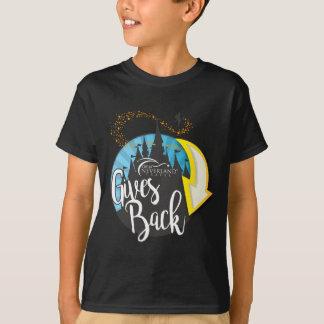 Fora de Neverland ao viagem dá para trás Camiseta
