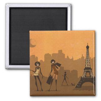 fora de para comprar em Paris Ímã Quadrado