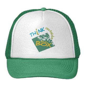 Fora do chapéu da caixa bonés