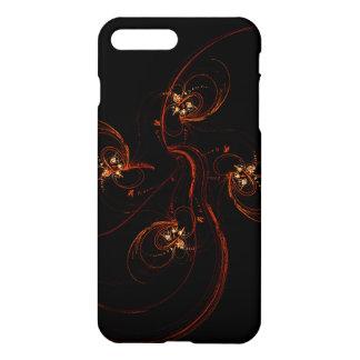 Fora do resíduo metálico escuro da arte abstracta capa iPhone 7 plus