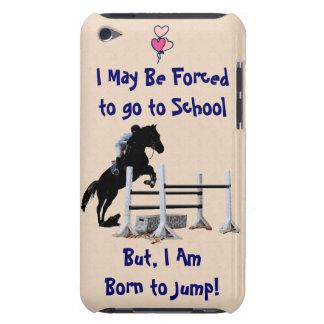 Forçado para ir à escola, nascer para saltar o cav capa para iPod touch