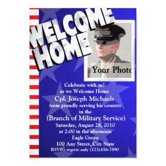 Forças armadas Home/bem-vindas Convite 12.7 X 17.78cm