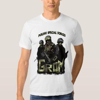 Forças especiais polonesas GROM Camiseta