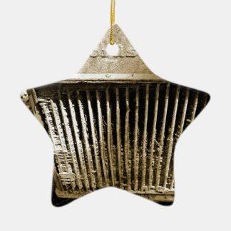 Fordson Ornamento De Cerâmica Estrela