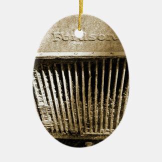 Fordson Ornamento De Cerâmica Oval