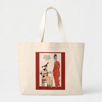Forma 1913 parisiense bolsa para compras
