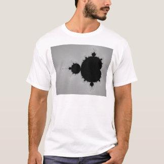 Forma ajustada do Fractal de Mandelbrot Camiseta