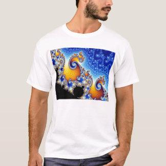 Forma bidimensional ajustada do Fractal de Camiseta