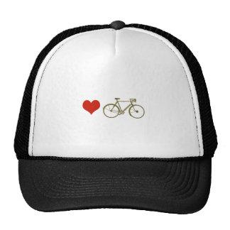 forma da bicicleta boné