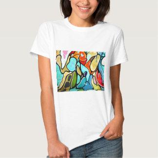 forma dos grafites camisetas