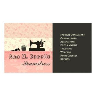 Forma Handmade feminino Moda Cartão De Visita