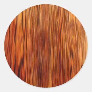 Forma natural do estilo da textura de Brown da Adesivos Em Formato Redondos