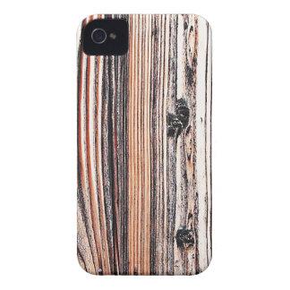 Forma natural do estilo da textura de Brown da Capa Para iPhone