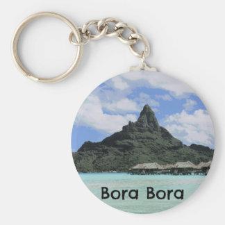 Formação ideal do atol de Bora Bora Tahiti das Chaveiro
