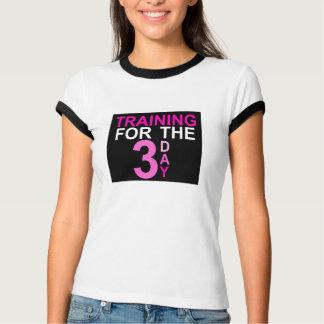 Formação para o dia 3 camiseta