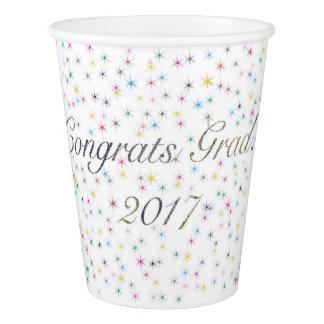 Formando de Congrats! 2017 copos de papel