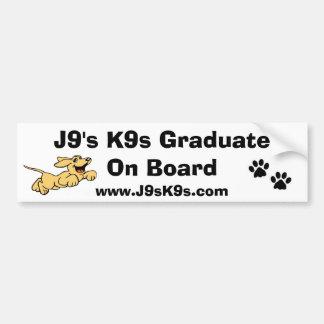 Formando de J9 K9s a bordo do autocolante no vidro Adesivo Para Carro