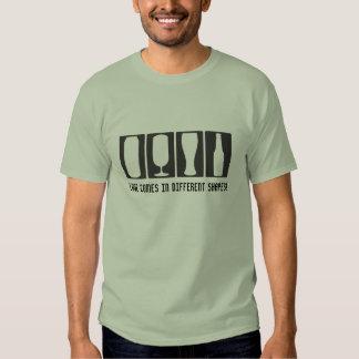 Formas diferentes do amor camisetas