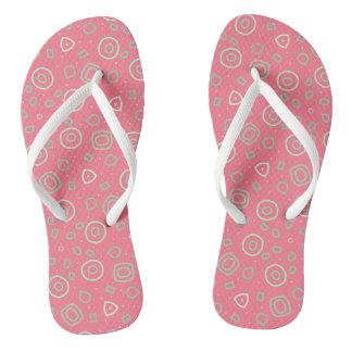 Formas do Beachcomber no rosa Chinelos