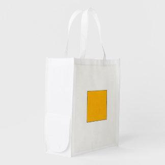 Formas e cor sacolas ecológicas para supermercado