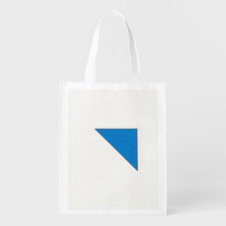 Formas e cor sacolas reusáveis