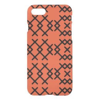Formas geométricas do nómada alaranjado tribal da capa iPhone 7