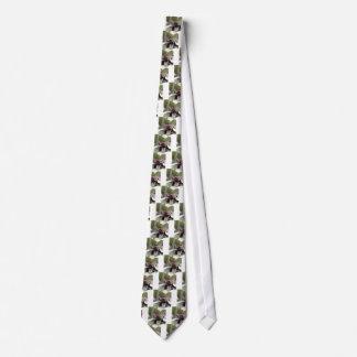 Formas naturais da natureza gravata