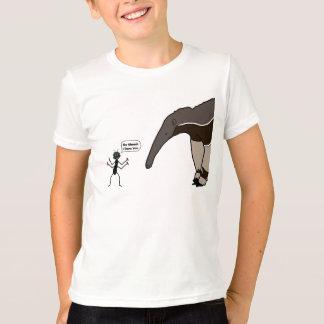 Formiga contra a camisa do Anteater