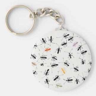 Formigas em toda parte chaveiro