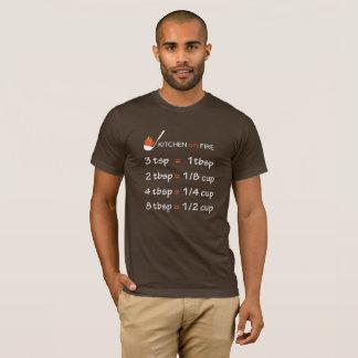 Fórmula da cozinha camiseta