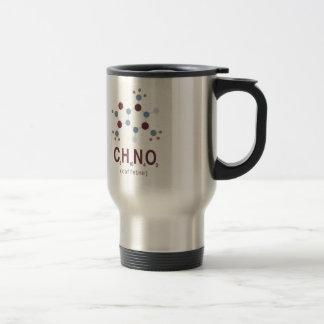 Fórmula química da cafeína caneca térmica