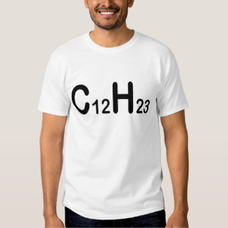 Fórmula química do combustível diesel tshirts
