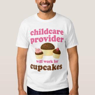 Fornecedor engraçado da puericultura camisetas