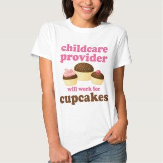 Fornecedor engraçado da puericultura tshirt