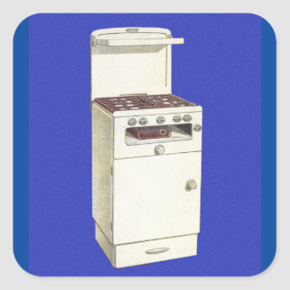 Forno do fogão do queimador de gás dos adesivo quadrado