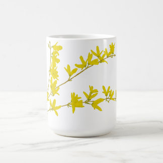 Forsythia do primavera caneca de café