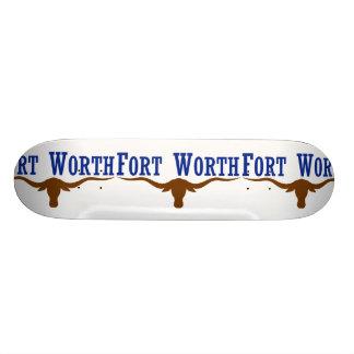 Fort Worth, Texas, os Estados Unidos Skate