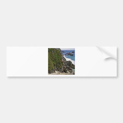 Fortaleza da montanha da praia adesivos