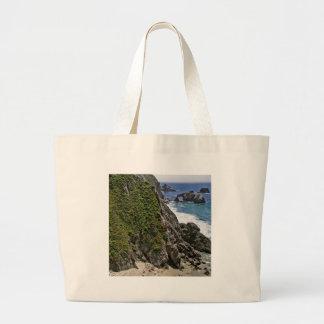 Fortaleza da montanha da praia bolsas de lona